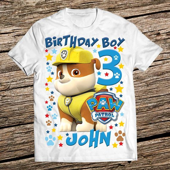 Paw patrol girls shirt Paw Patrol Birthday shirt