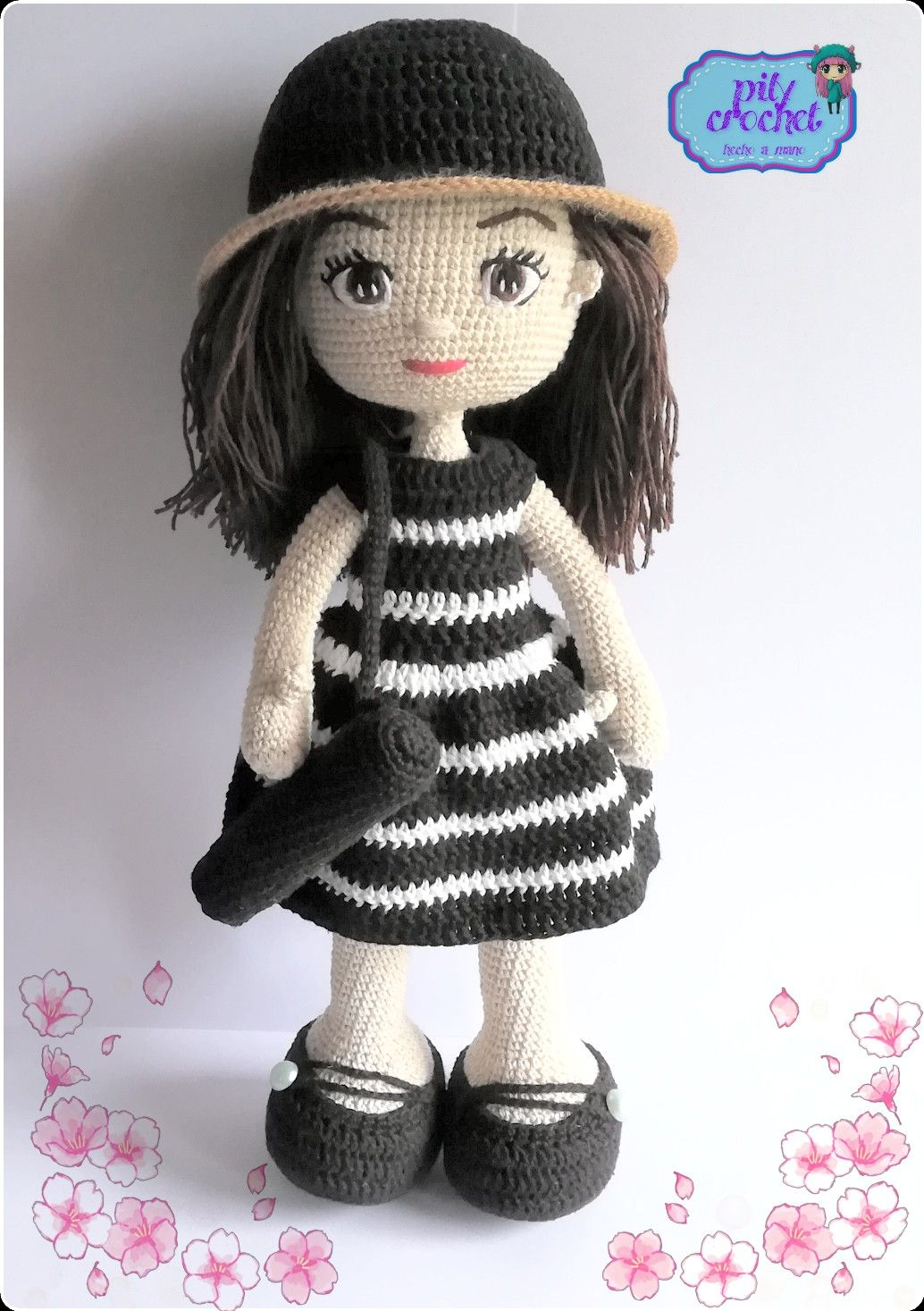 15 Adorable Crocheted Doll Clothing Patterns | 1467x1034
