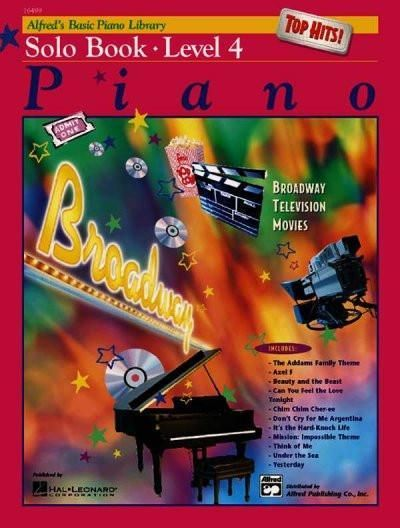 Alfred's Basic Piano Library: Top Hits Solo Level 4 | Products