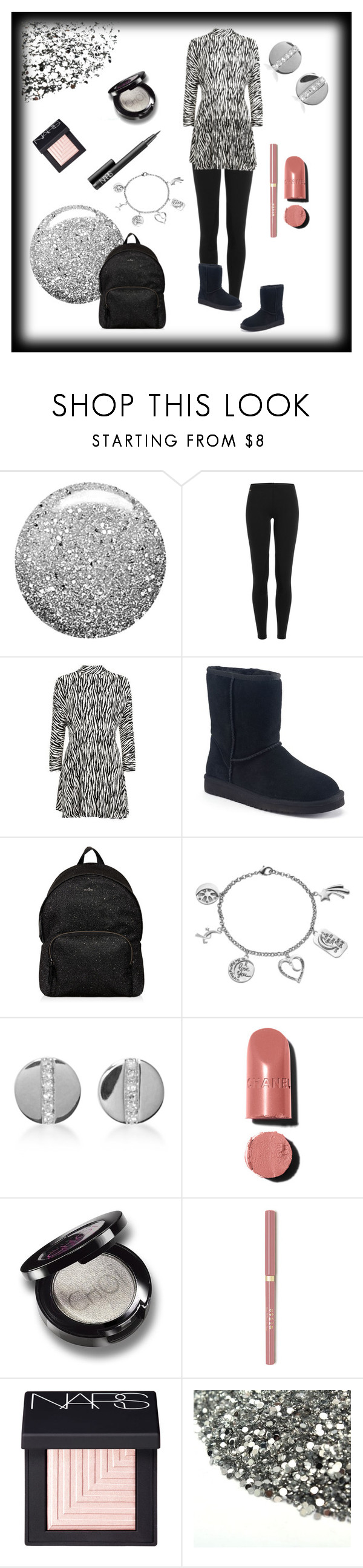 """""""Let's go to the Mall."""" by klm62 ❤ liked on Polyvore featuring Topshop, Polo Ralph Lauren, Koolaburra, Hogan, Love This Life, EF Collection, Chanel and NARS Cosmetics"""