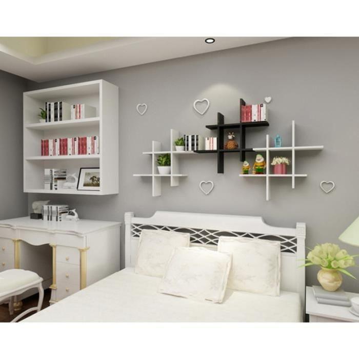 magnifique etagere murale chambre | Décoration française