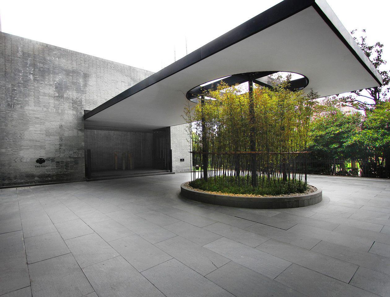 Puli hotel shanghai danielng entrance entrance for Hotel entrance decor