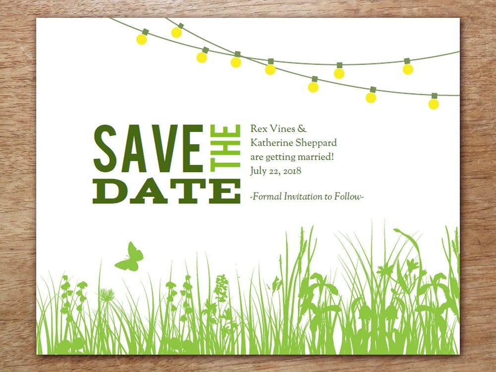 printable save the date - garden party | gärten, date-ideen und, Haus und garten