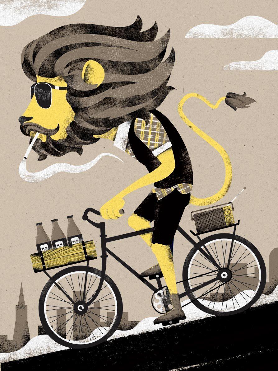 Открытки для, картинки про велосипед приколы