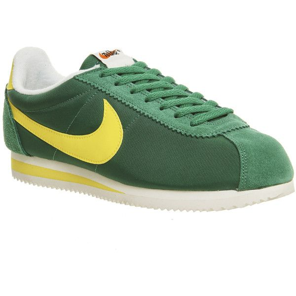 huge discount e863d 915b9 ... coupon code nike cortez nylon trainers 82 liked on polyvore featuring  shoes sneakers 0b3a7 f7a48