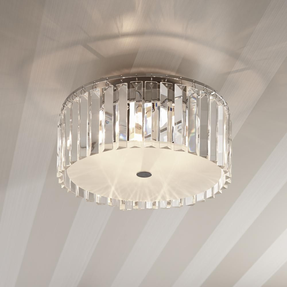 Bazz 5 Light Frosted Ceiling Lamp With Clear Decorative Glass Plates C15579cr The Home Depot In 2020 Ceiling Lights Bedroom Ceiling Light Ceiling Lamps Bedroom