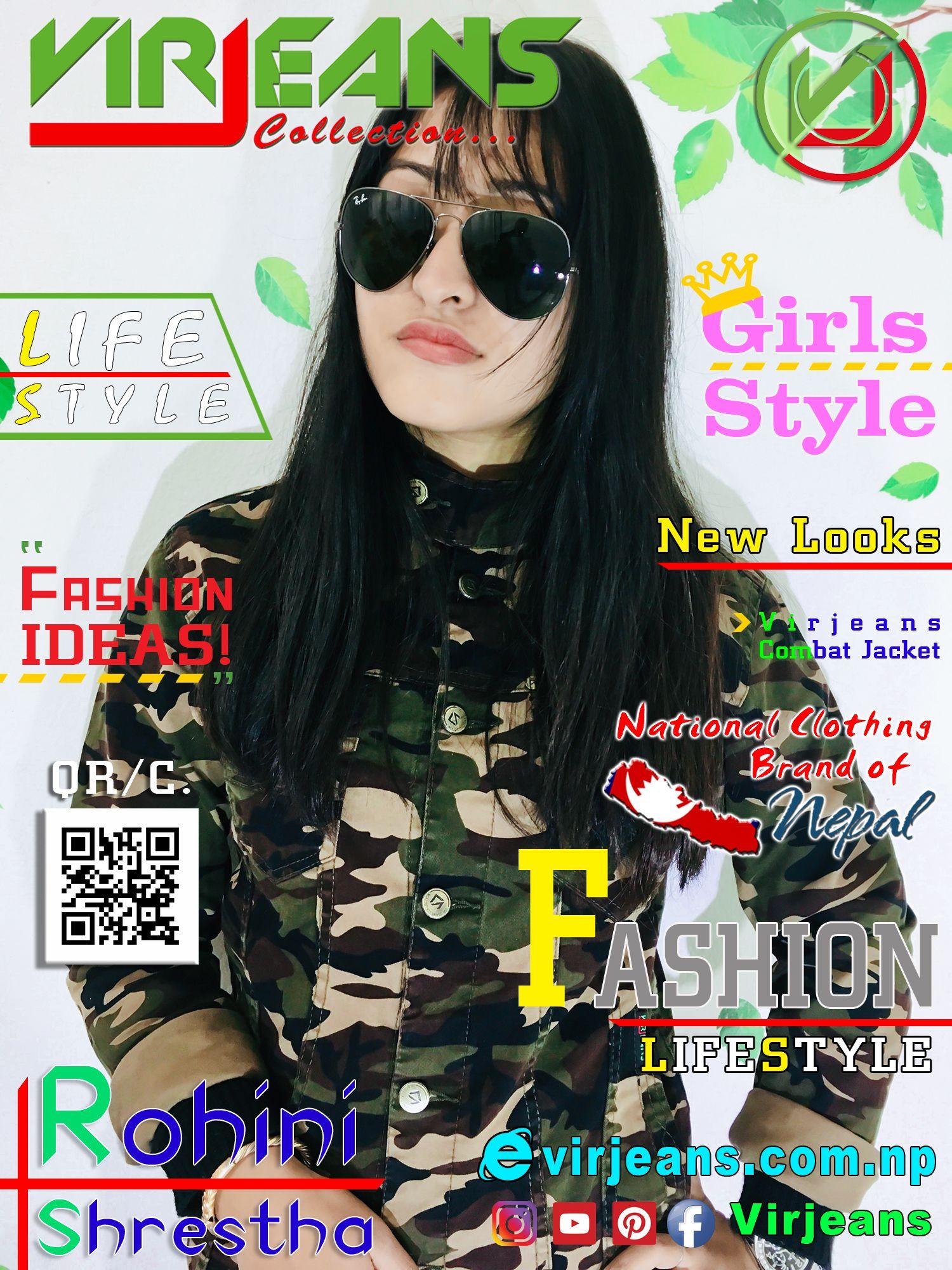 Model Rohini Shrestha Virjeans Photography Digital World Magazine Asian