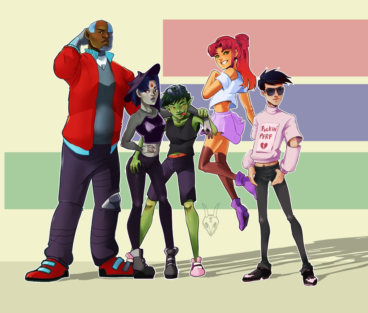 Teen Titans Tumblr