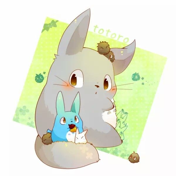Tonari no Totoro Totoro, Chibi Totoro, & Makkurokurosuke