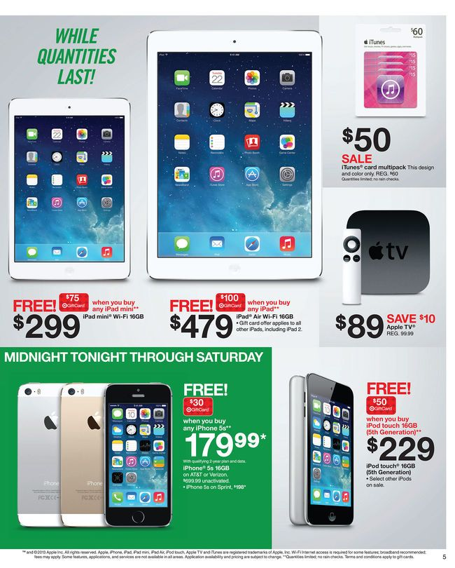 Black Friday Deals Target Target Style Holiday Doorbusters Blackfriday Black Friday Target Black Friday Itunes Card