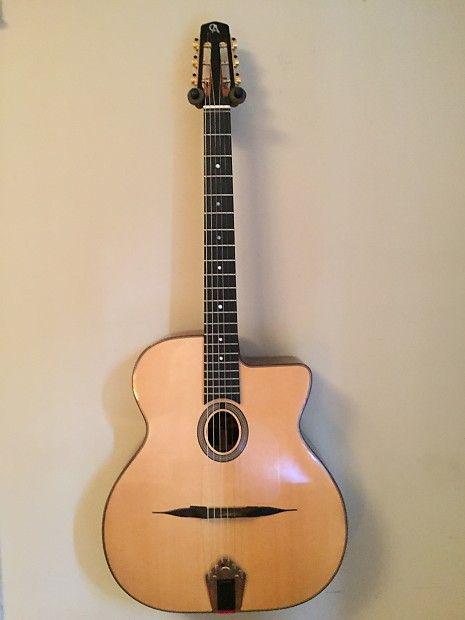 Rj Aylward Gypsy Jazz Guitar Model Advanced Ma022 2004 European