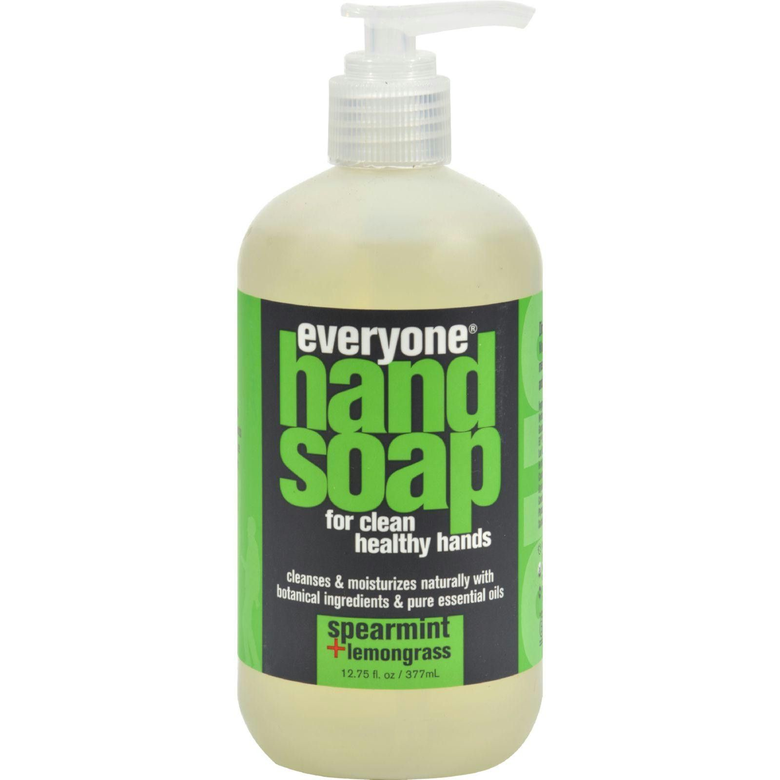 Eo Products Everyone Hand Soap Spearmint And Lemongrass 12 75