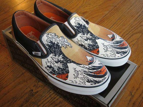 Vans Vault Slip On Great Wave 2006 Hokusai