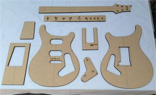 Guitar Building Templates