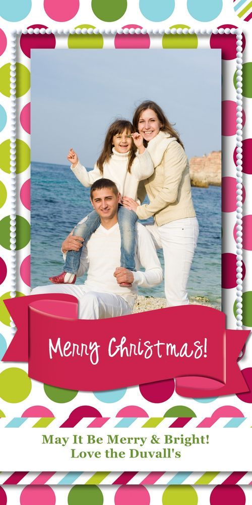 Holidazzle 4x8 Holiday Card featuring Creative Memories Rewards Club Exclusive Products    http://www.creativememories.com