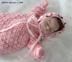 Christening Dress Crochet Pattern