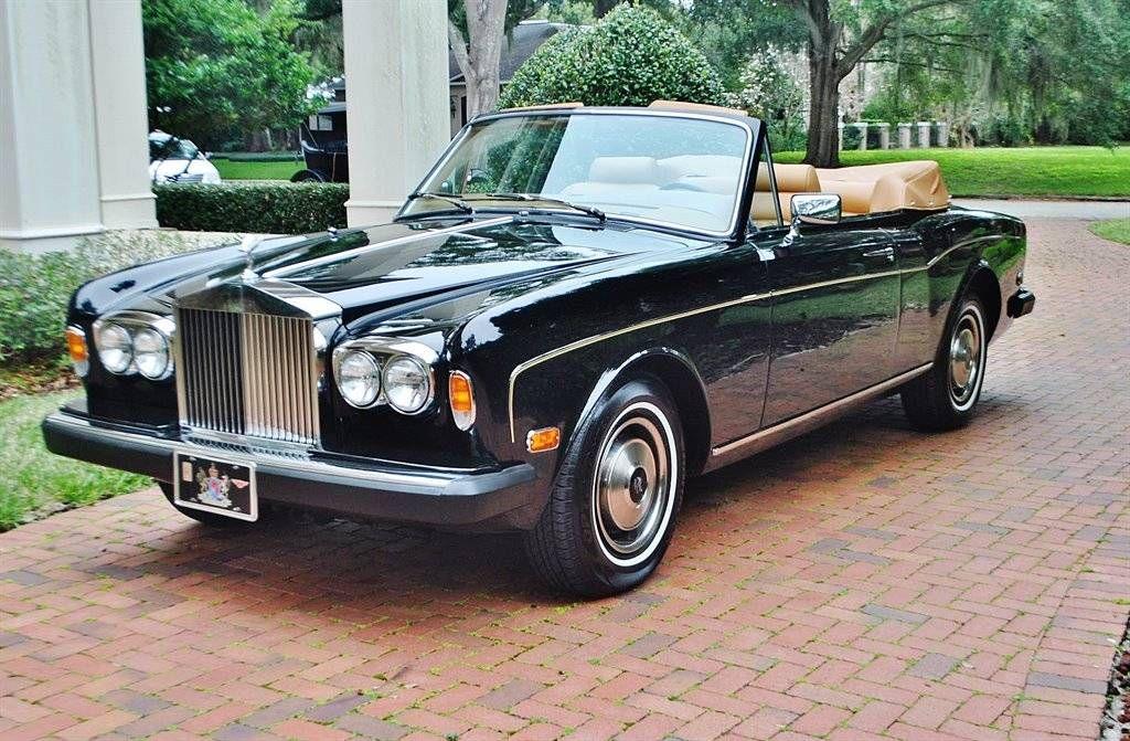 1983 Rolls Royce Corniche For Sale 1714054 Rolls Royce Royce Ferrari F40