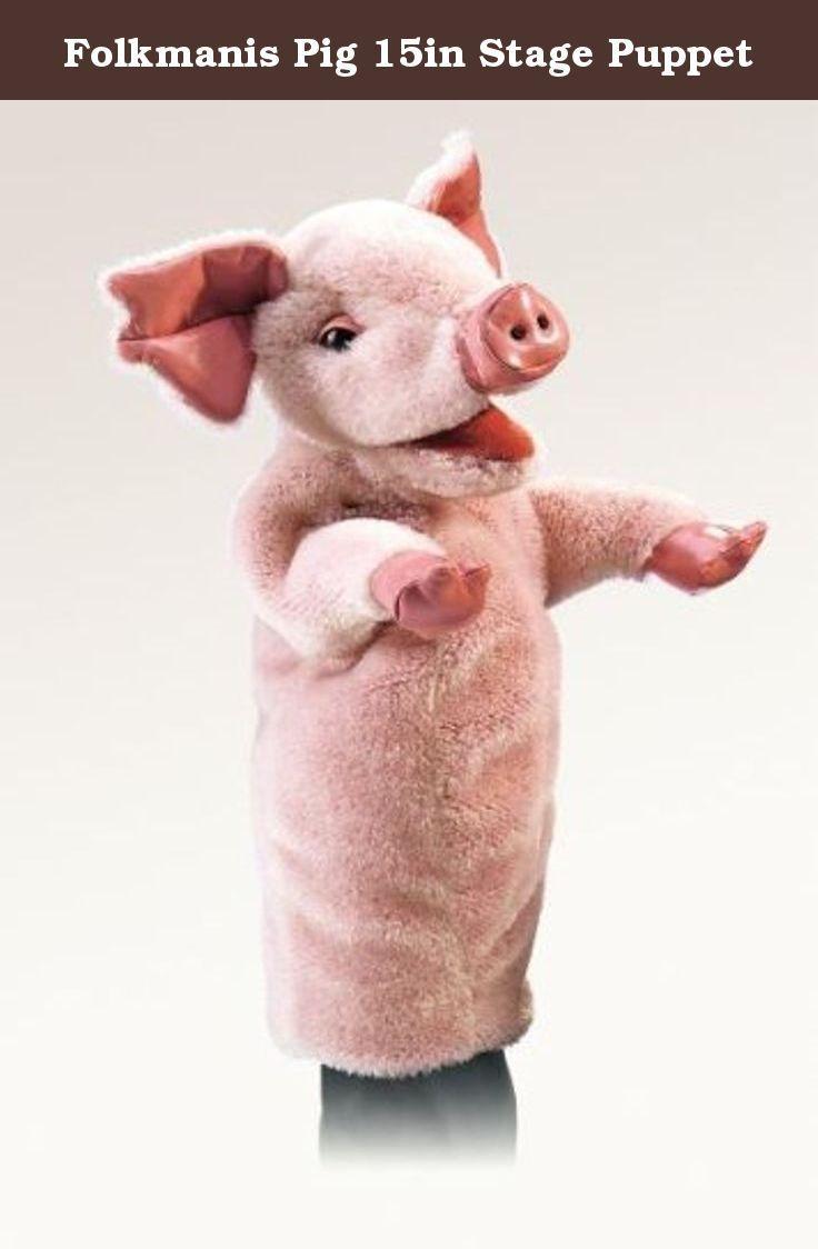 Folkmanis Little Pig Hand Puppet