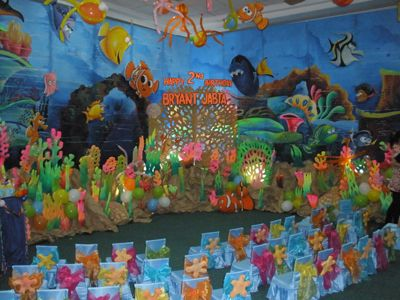 Under The Sea Birthday Party Nemo Under The Sea