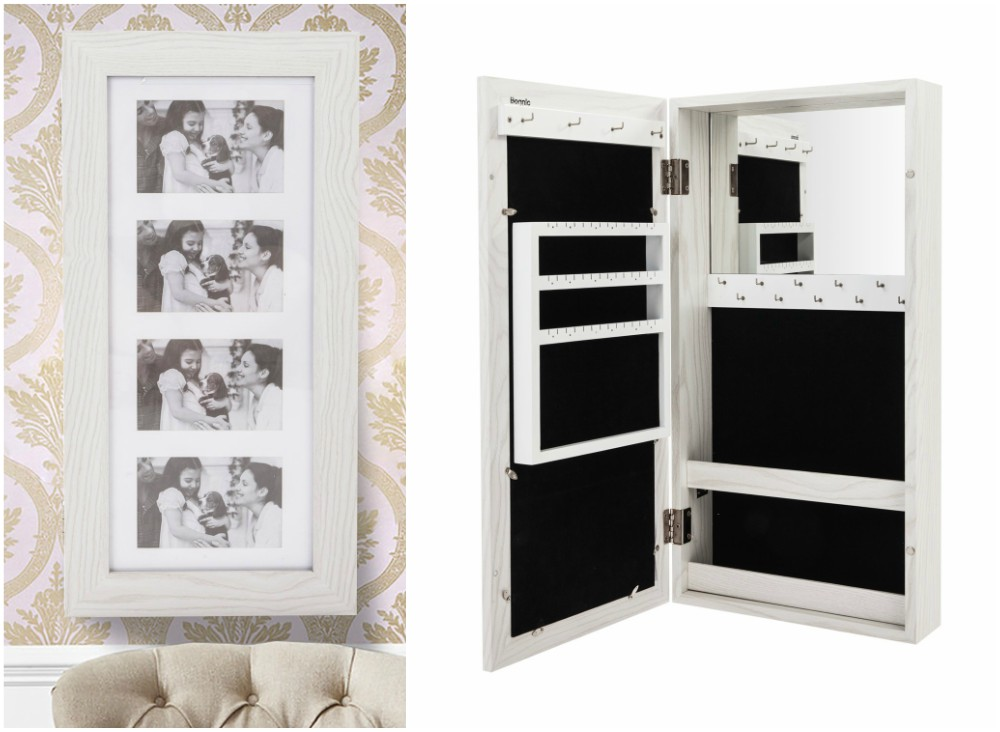 The 15 Best Wall Jewelry Boxes Wall Mounted Jewelry Armoire Armoire Storage Jewelry Storage Cabinet