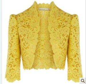 aa5b319498 Bolero | moda | Bolero de renda, Casaco de renda e Vestido com bolero