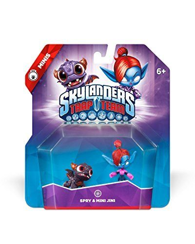 Skylanders Trap Team Spry Mini Jini Mini Character 2 Pack Http Www Amazon Com Dp B00nb65bmw Ref Cm Sw R Pi Awdm J5 Skylanders Trap Team Skylanders Spry