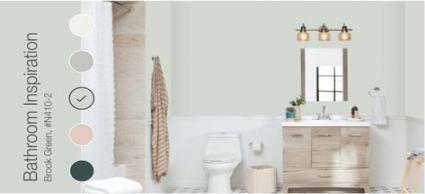 bathroom paint colors behr gray home depot 62 ideas #