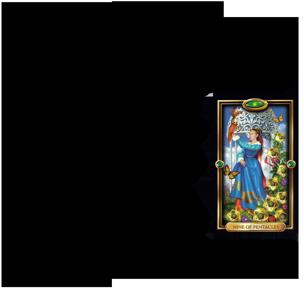 Nueve De Oros Tarotnuevavidencia Com Lectura De Tarot Tarot Cartas Significado Leer El Tarot
