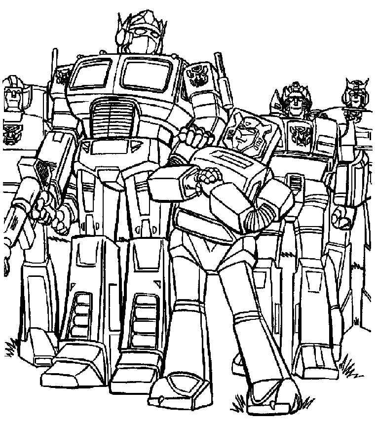 Transformers Bumblebee Coloring Pages Can Be Your Kids Favorite Pictures To Color This Robot Is Really Famous And Must Love It Too