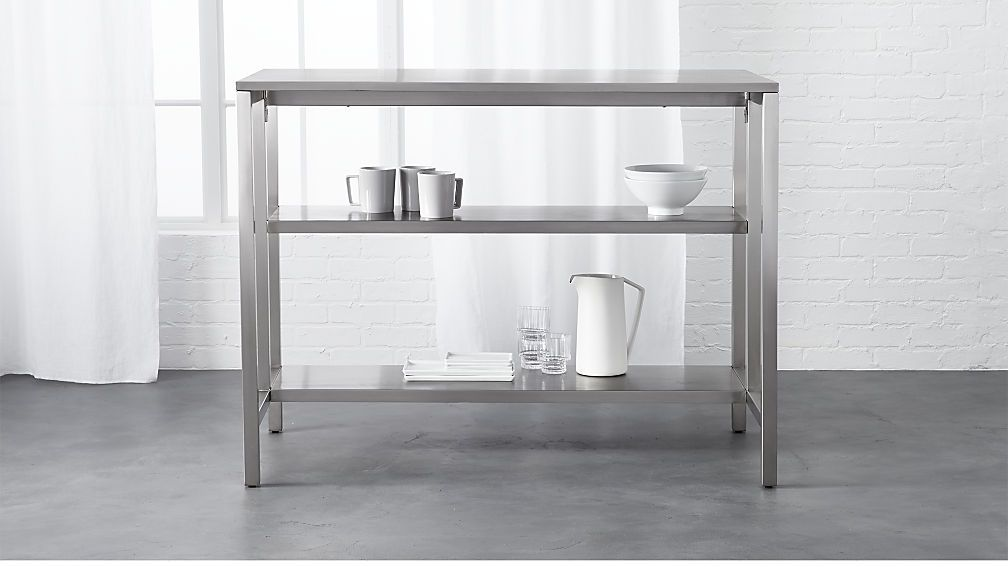 coterie kitchen cart | Penney Great Room in 2019 | Stainless ...