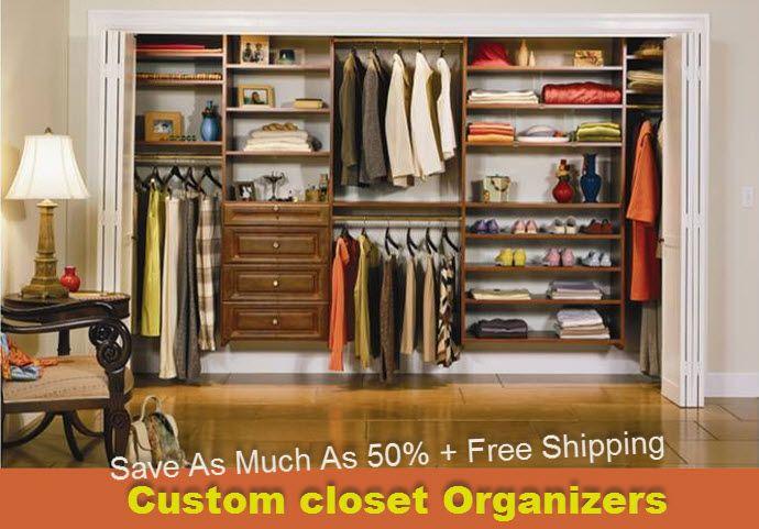 Nice Closet · Instock Custom Closet Organizers Wardrobe Lowest Cost ...