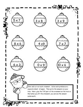 Free Differentiated Holiday Tree Multiplication and