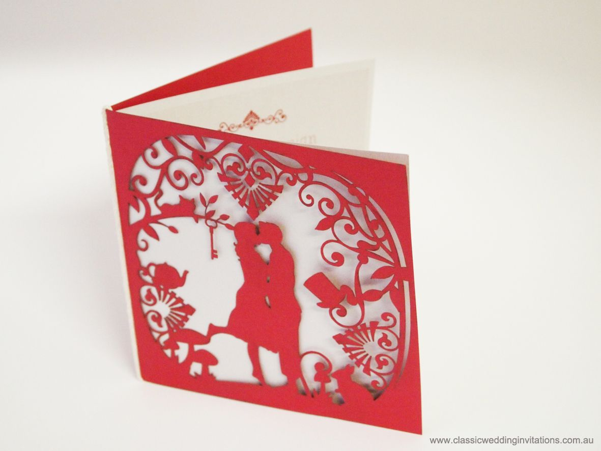 Laser cut folder | Invitation | Pinterest | Laser cutting and ...