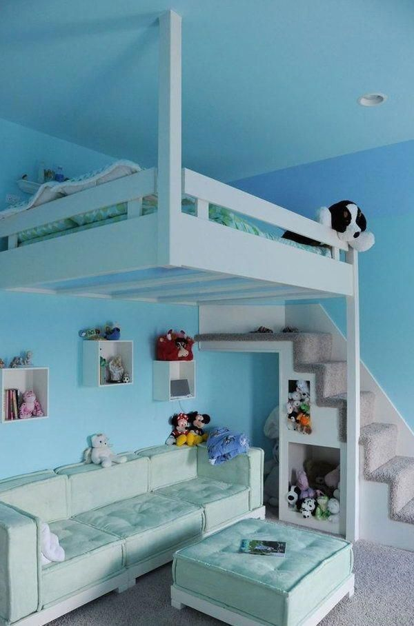 10+ Best Bunk Beds for Kids And Teens with Storage Design Ideas images