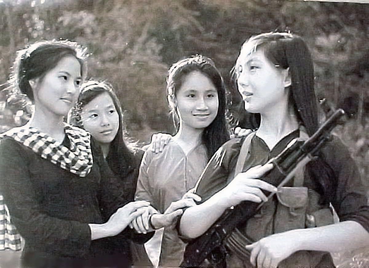 Women war vietnam vietnamese naked
