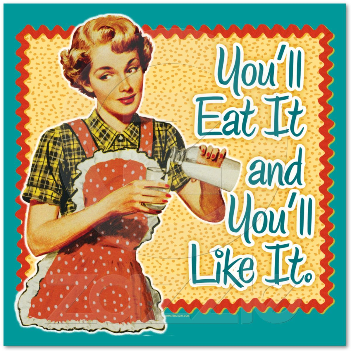 never worked with lima beans. | Retro housewife, Vintage ...