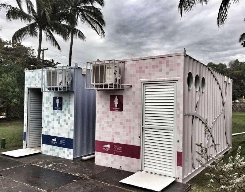 Https Www Locares Com Br Locacao Containers 10 Container Banheiro De Luxo Container Shop Architecture House Design