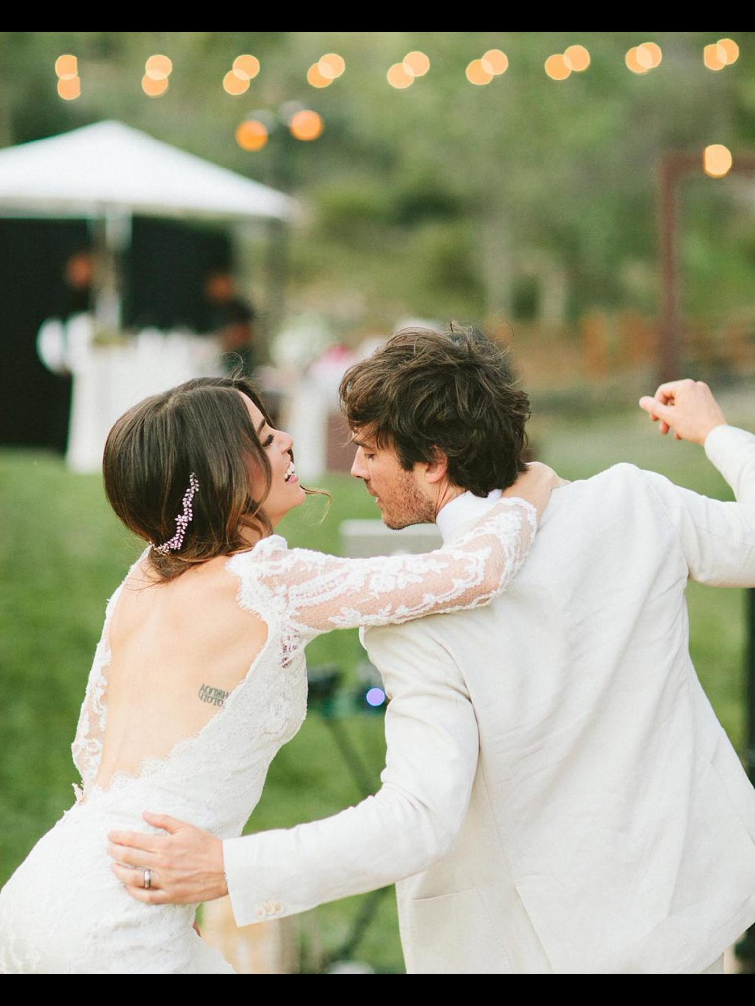 Nikki Reed And Ian Somerhalder Ian Somerhalder Wedding Celebrity Weddings Ian And Nikki