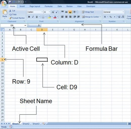 Microsoft Excel for Beginners Computer science Pinterest