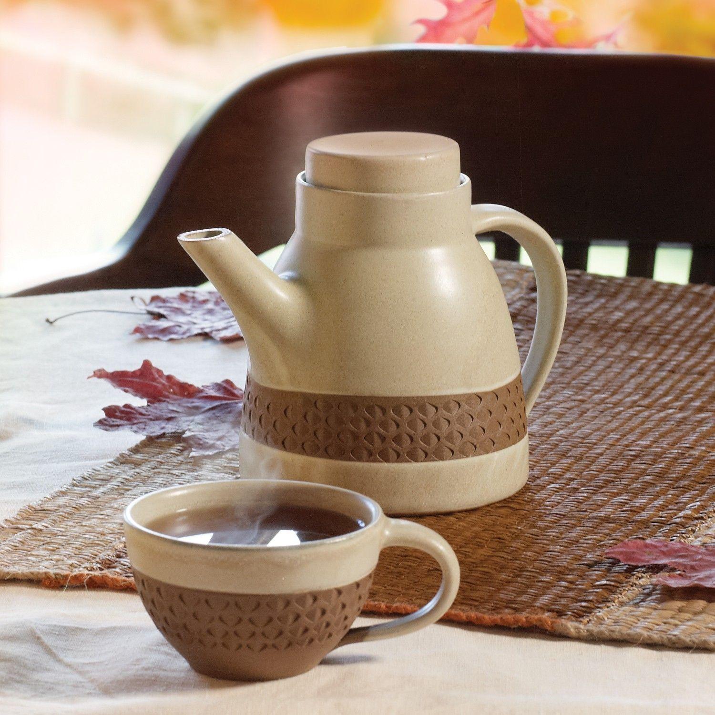 Tea Pots, Stoneware Ceramics, Tableware