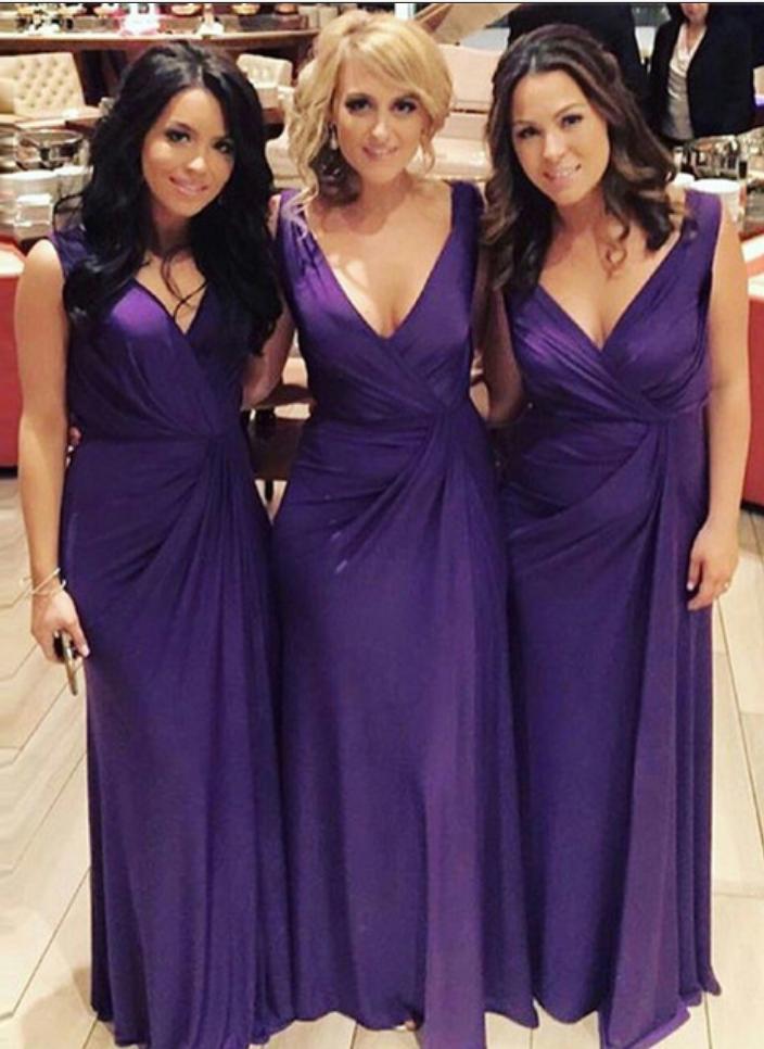Cheap bridesmaid dresses ,Purple Bridesmaid Dresses, Long Cheap ...