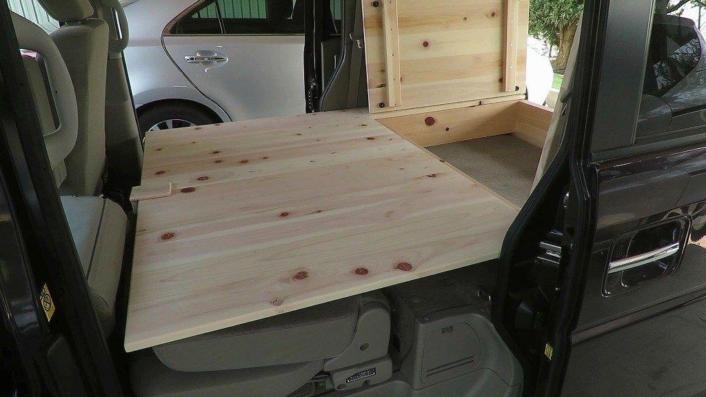 車中泊キット 軽キャンピングカーの自作キットを作るlv1 エブリイ
