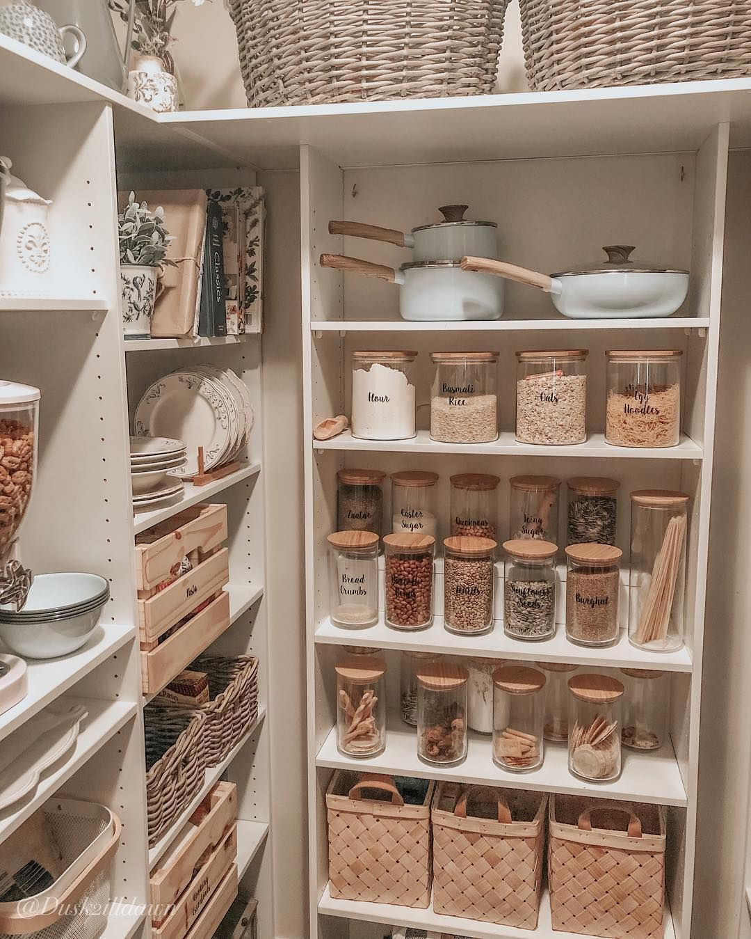 Fan Finds Tk Maxx Australia Pantry Makeover Pantry Renovation