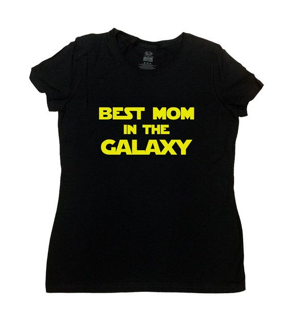 Best Mom In The Galaxy T-Shirt - Great Gift for Mothers Day/Christmas/Birthday! Mom Will Love This!  Love this design? Why not consider one for Dad