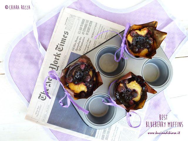 Kucina di Kiara: Best Blueberry Muffins