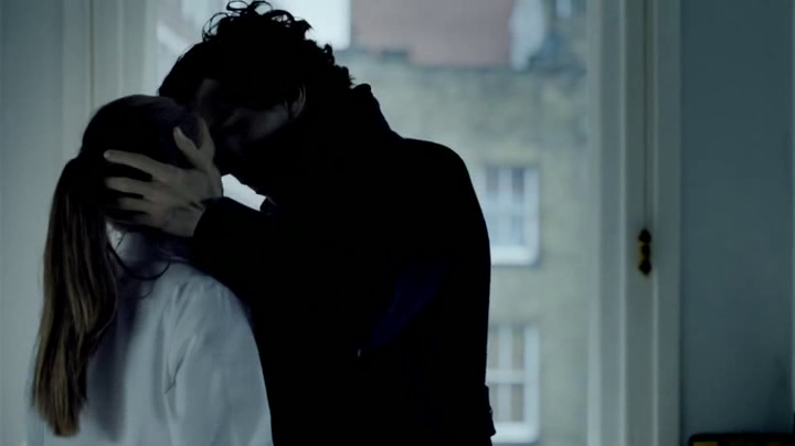 I love this scene: #Sherlock kissing Molly Hooper 3x1