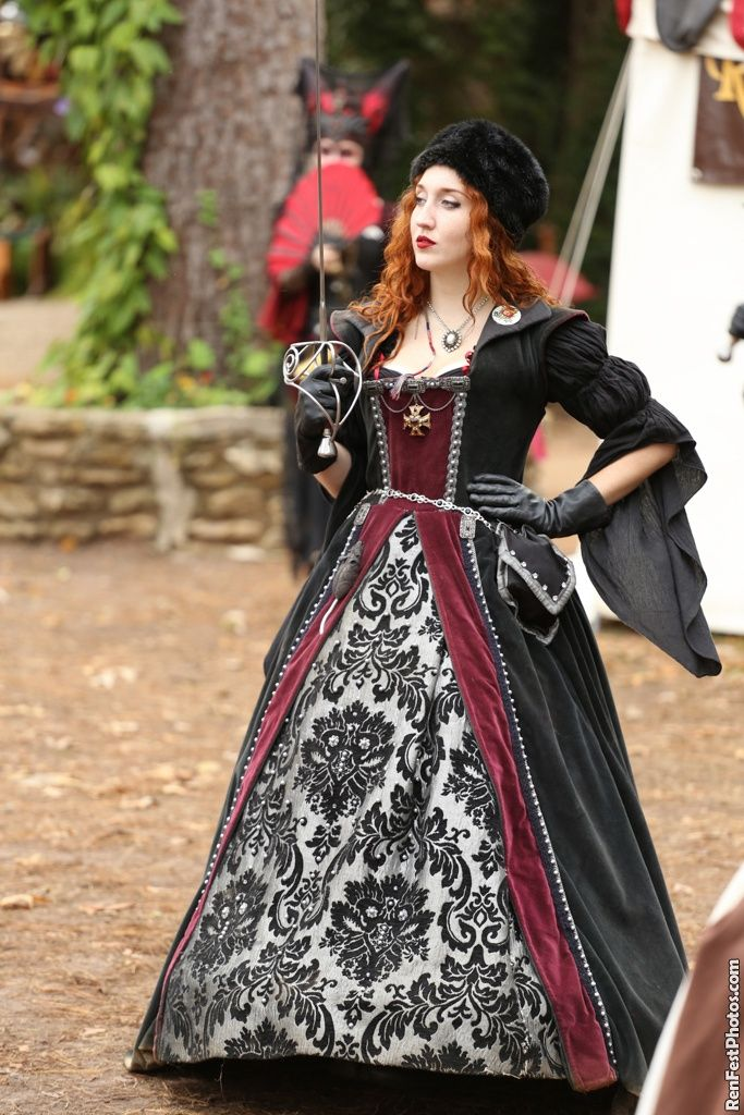 goth pirate renaissance fantasy
