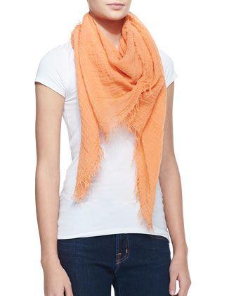 Tangerine scarf