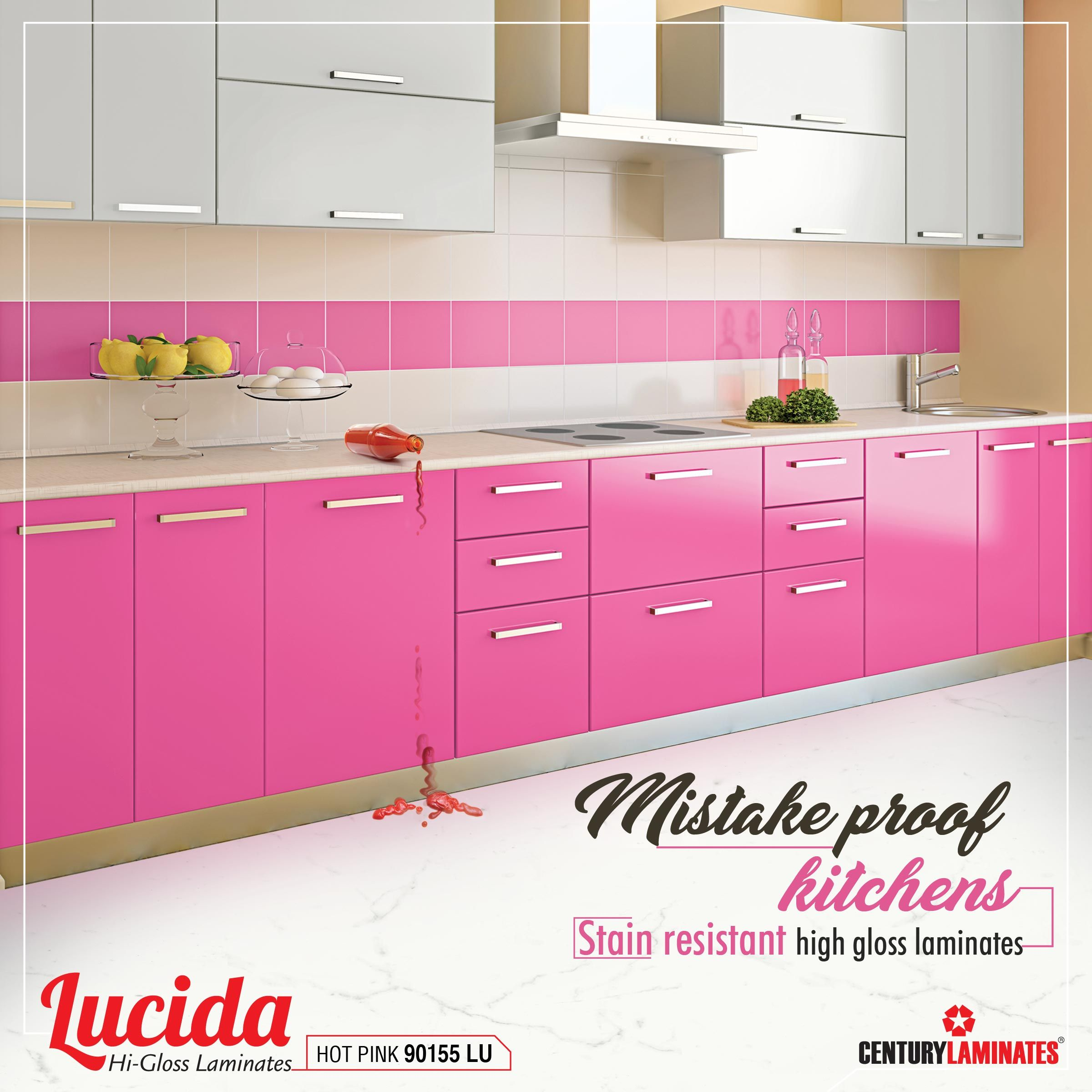 Lucida High Gloss Laminates Are Stain Resistant Best Choice