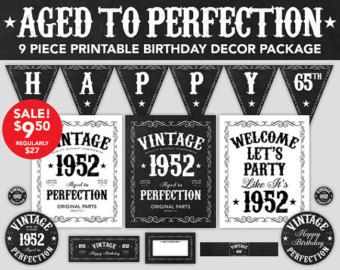 Image Result For 65th Birthday Party Ideas Men